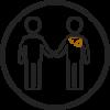 shaking hands logo Skopek Orthodontics