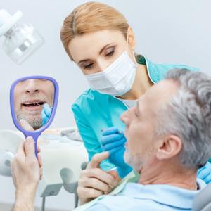 Skopek Orthodontics man regulary attending his orthodontic appointments